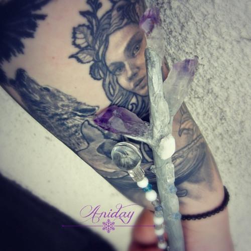 ... Algiz - ochranná kouzelná hůlka ...