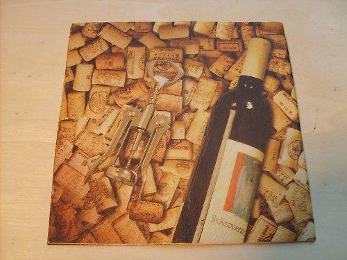 Ubrousek - špunty + víno