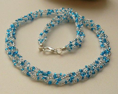 Copánek stříbrno-modrý