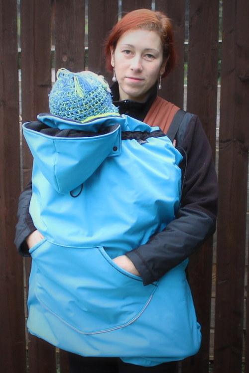 Modroučká zateplená kapsa :)