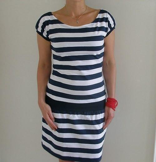 Námořnické šaty...vel.S - XXL...( S - skladem )