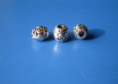Komponent oválný s ornamenty, cena za 10ks