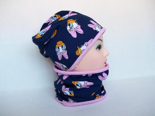 Čepice s nákrčníkem - Daisy