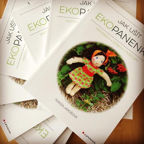 Jak ušít ekopanenky - autorská tištěná kniha