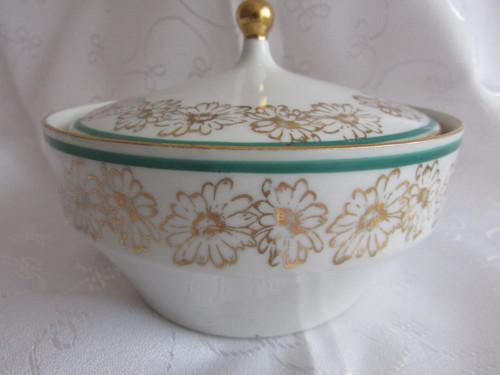 Vintage porcelánová cukřenka Moritz Zdekauer