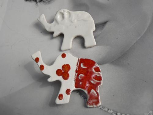 Keramika, Porcelánky Slůně - brož