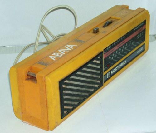 SSSR - kabelkové rádio ABAVA - RADIOTECHNIKA