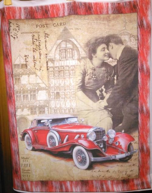 Úpletový panel 36 x 46 cm