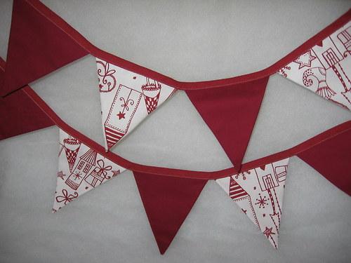 vánoční vlaječky