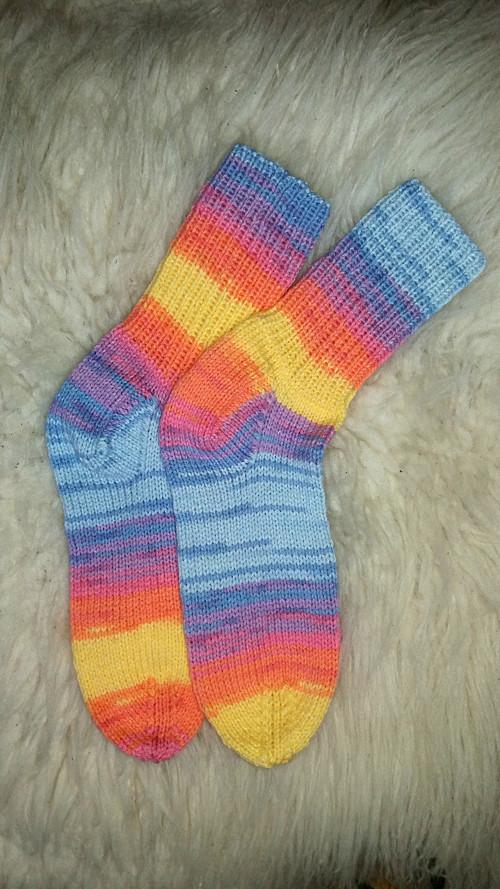 Ručně pletené ponožky č.113.... ...   vel.40