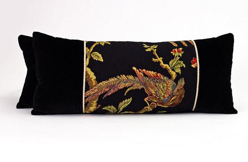 Polštář s motivem bažanta, 67 x 29 cm