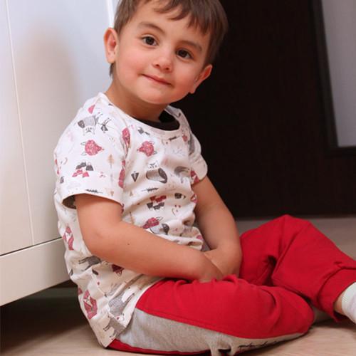 Střih na dětské tričko BASIC 80-164