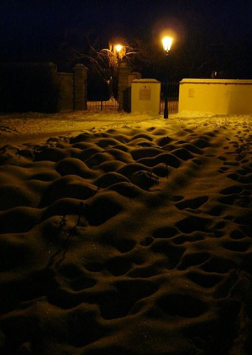 Duny sněhu