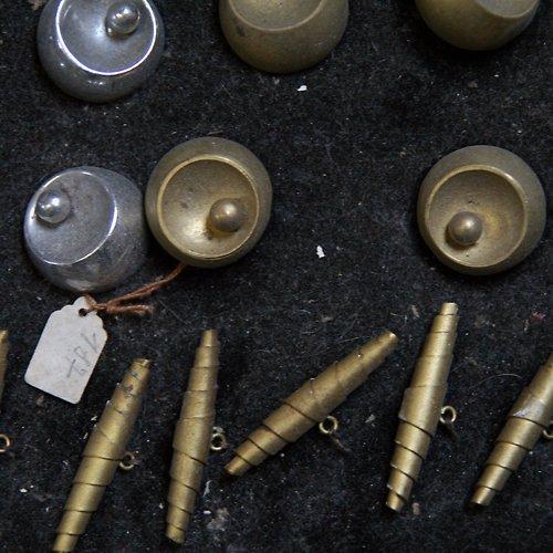 Kovové starožitné knoflíky 19 kusů - SLEVA!
