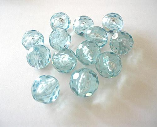Plastové kuličky 20mm modré