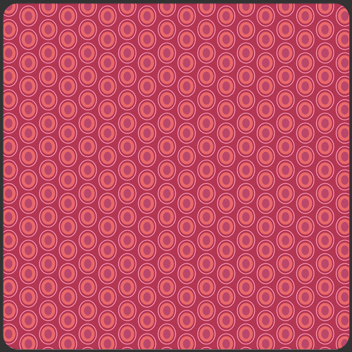 Látka Oval Elements Cramberry 913