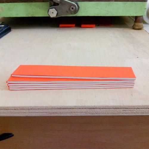 Trhací bloček »Pomeranč« formát 40×195 mm