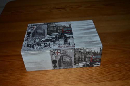 Krabička na čaj - 8 přihrádek - Londýn