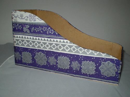 Krabička na koření -  fialová