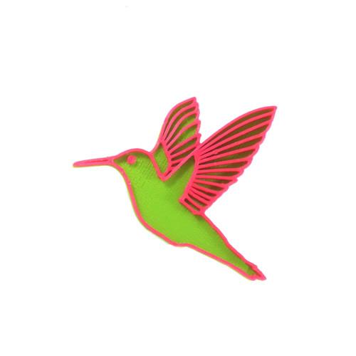 Kolibřík green/magenta