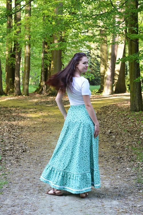 Sukňa Flora