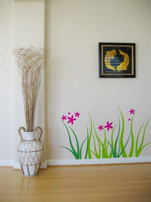Grassland - samolepka na zeď