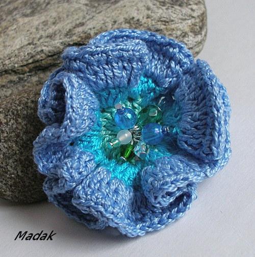 Mořská růže ....... brož, VÝPRODEJ z 155,-