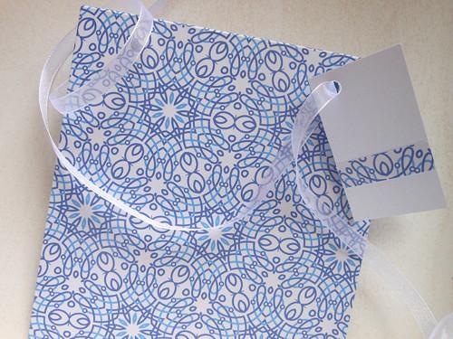 Ledové květy -  obal na CD 13x14 cm
