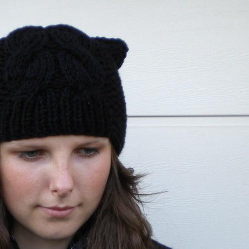 Kočičí v černé barvě