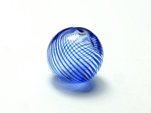 skleněný foukaný korálek 12mm