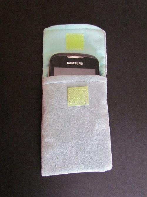 Kožená obal na mobil