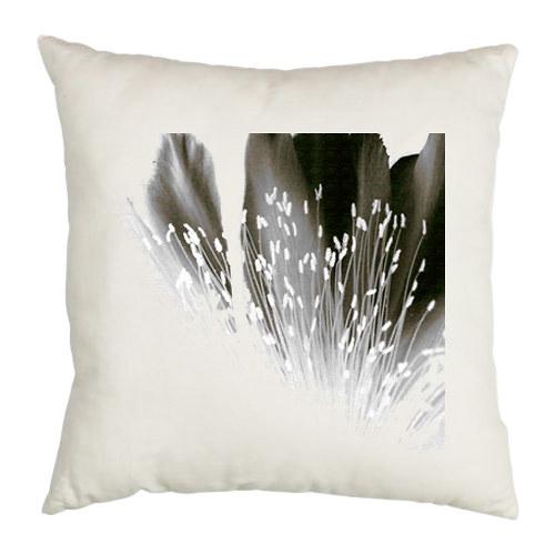Dekorační polštář ,,Šedý květ,,