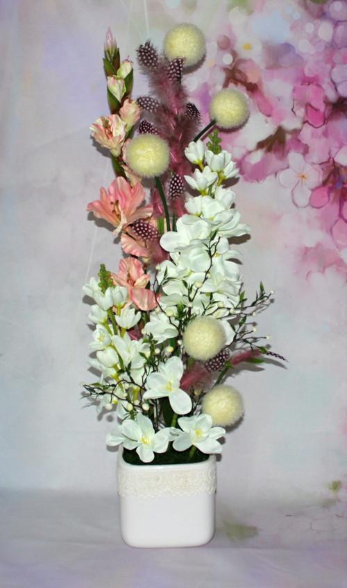 * Celoroční květinové aranžmá 70 cm *
