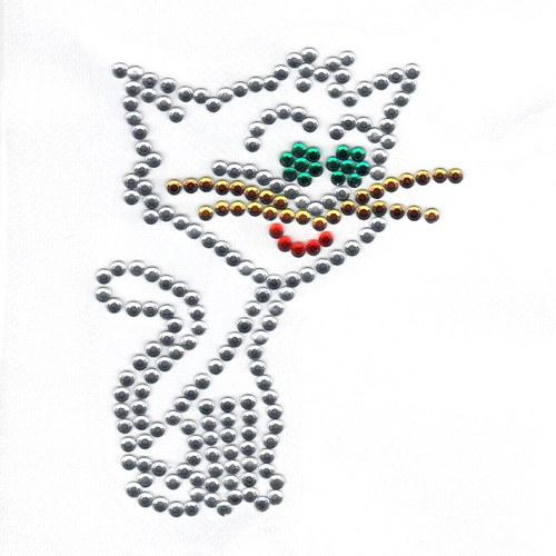 Nažehlovací motiv - kočička