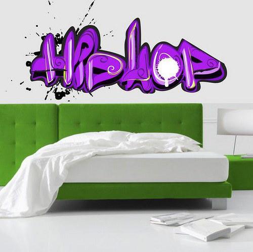 Farebná nálepka 2494f HipHop