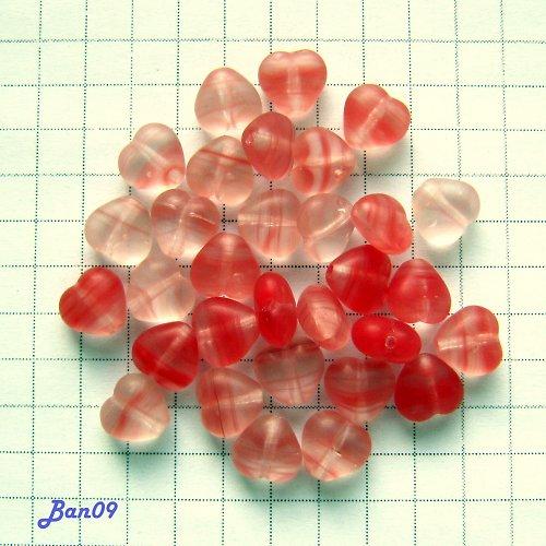 Srdíčka červená