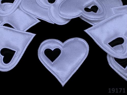 19171-B14 Aplikace srdce v srdci SV.MODRÉ, bal.5ks