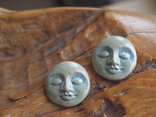 Keramická hlavička - mini kulaté - set 2 ks