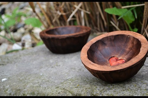 Miska malá-hněď