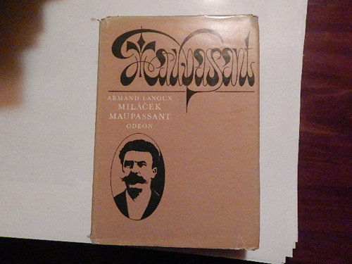 Miláček Maupassant - kniha
