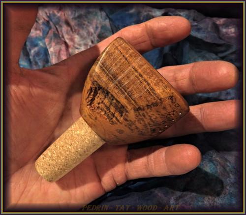 64. dřevěná zátka na Víno - MERUŇKA - Morava