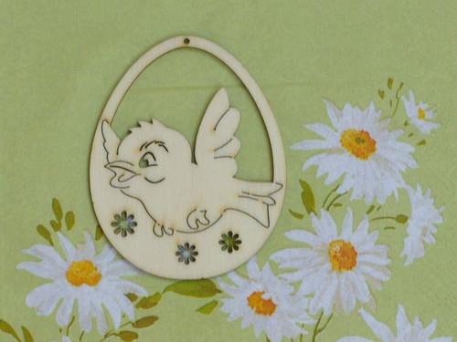 Vajíčko - ptáček