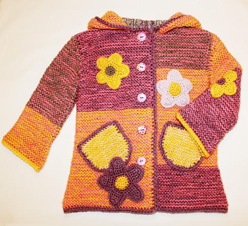 Elfí kabátek na jaro i podzim