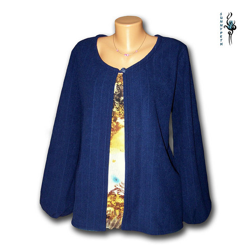 Fleecový svetřík-VÝPRODEJ