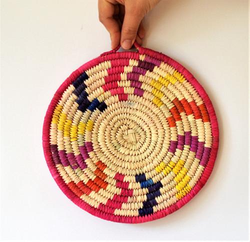 SUNNY Ručne pletená podložka z palmových listov
