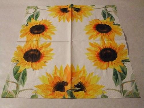 Květiny - slunečnice 10.