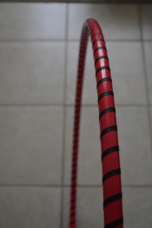 Fluorescenční růžová obruč hula hoop 20mm