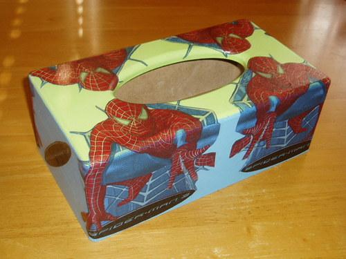 Krabička na kapesníky Spiderman