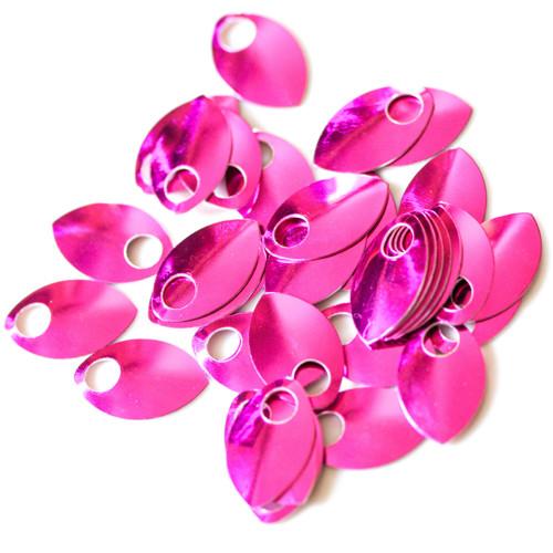 Šupiny malé lesklé růžové