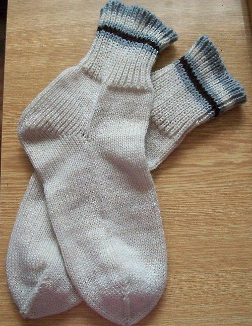 Ponožky béžové vel. 35/36